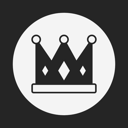 coronation: crown icon Illustration