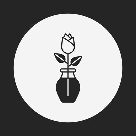 rose garden: rose icon