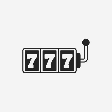 slot: Slot Machine icon Illustration