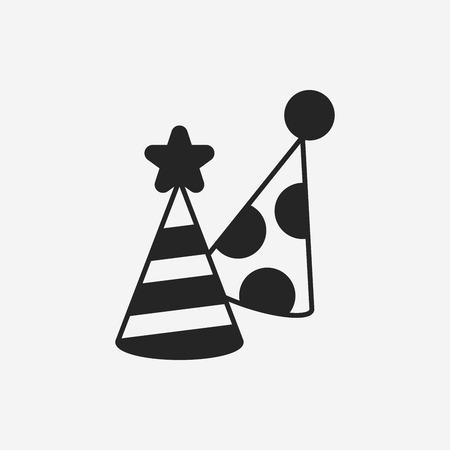 sombrero: icono sombrero de fiesta Vectores
