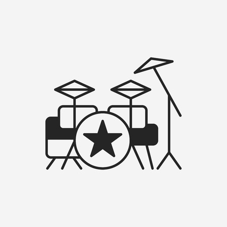 drums: Bass drums icon
