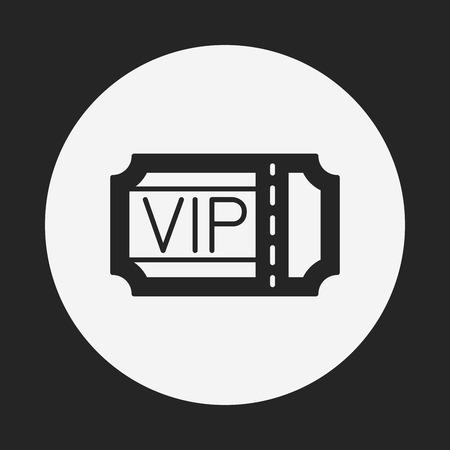 ticket icon: vip ticket icon
