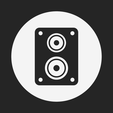 equipo de sonido: icono est�reo