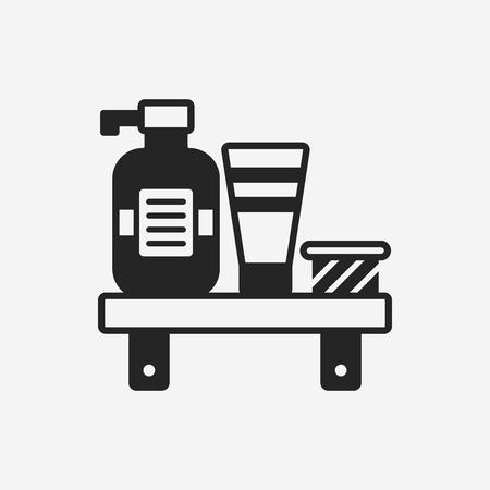 moisturizer: shampoo icon Illustration