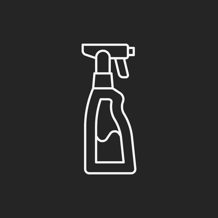 detergent: Dish detergent line icon