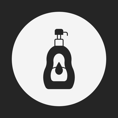 shampoo: shampoo icon Illustration