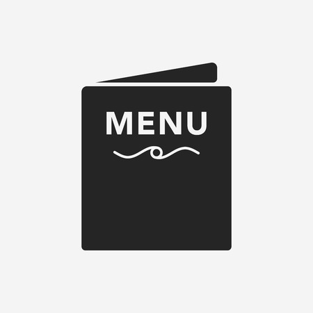 restaurant dining: menu icon