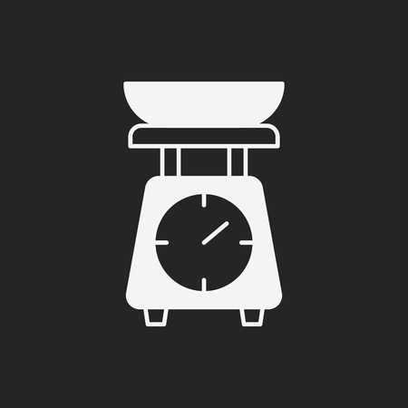 counterbalance: Weighing machine icon