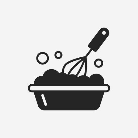 kitchenware beater icon Illustration