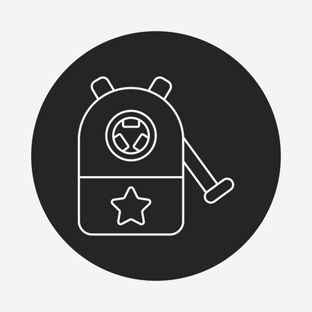 sharpener: Pencil sharpener line icon