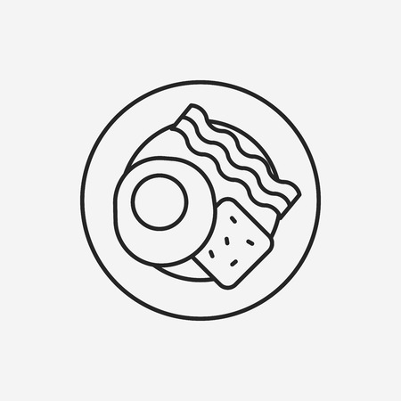 brunch: brunch line icon