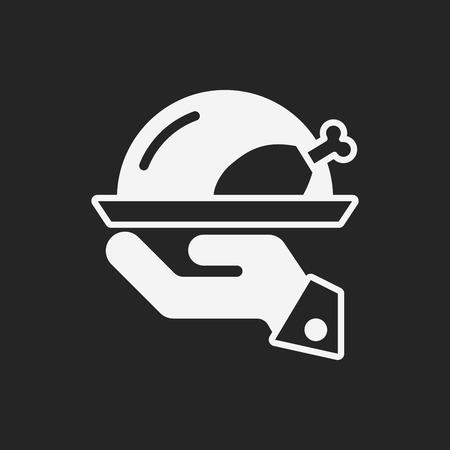 fried chicken wings: turkey icon