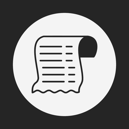Empfang icon Standard-Bild - 42877117