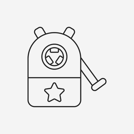sharpening: Pencil sharpener line icon