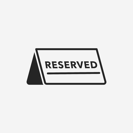 fine dining: reserved icon