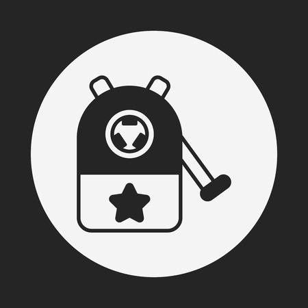 sharpening: Pencil sharpener icon Illustration
