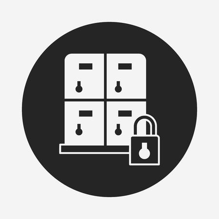 locker: locker icon