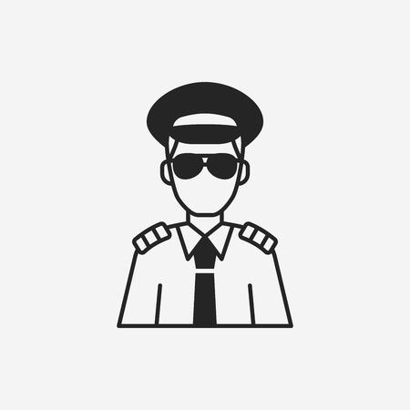 captain: Captain icon Illustration