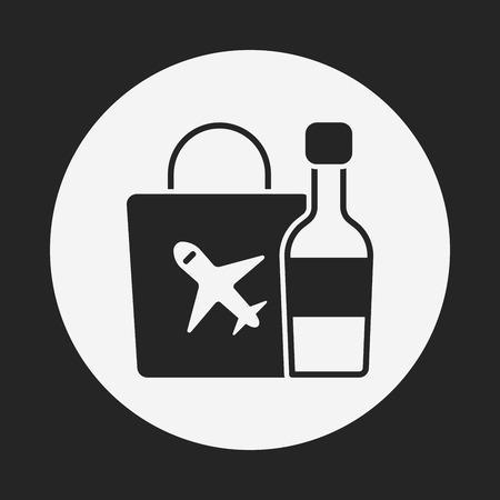 duty free: duty free icon Illustration