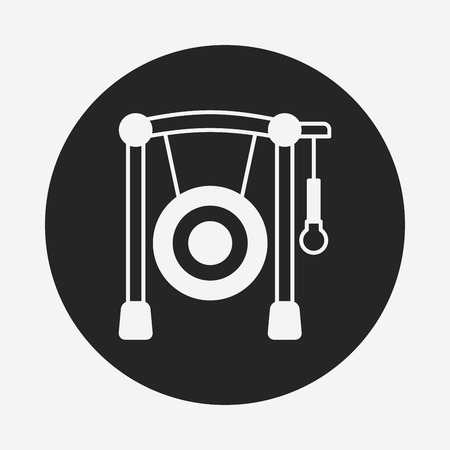 Gong: Gong icon Illustration