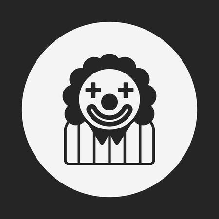 clown face: clown icon