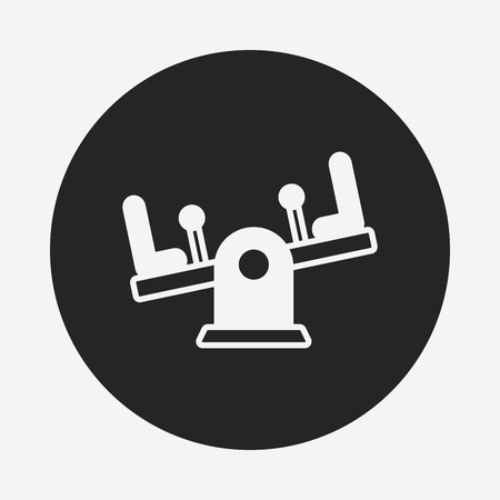 seesaw: playground seesaw icon