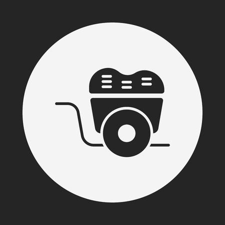 barrow: barrow icon Illustration
