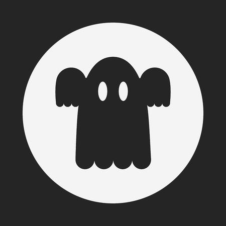 phantom: ghost icon Illustration