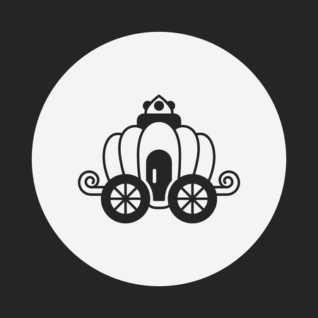 chariot: carriage icon