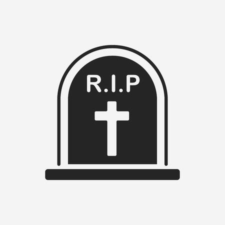 rip: Grave icon