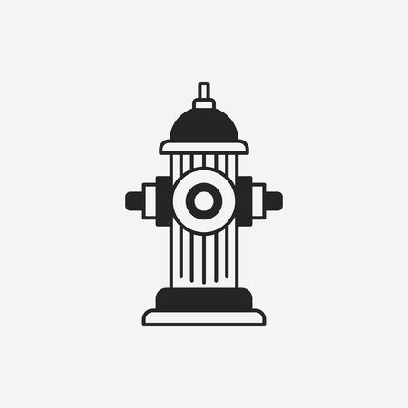 borne fontaine: Feu icône de bouche