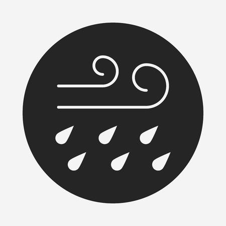 wind icon 向量圖像