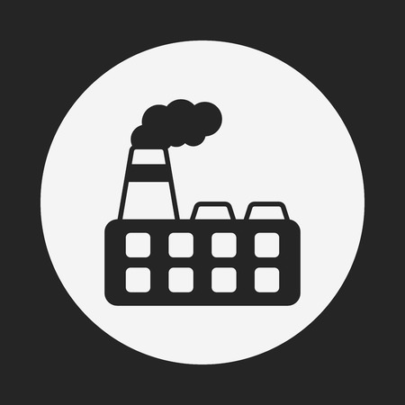 chemical industry: factory icon
