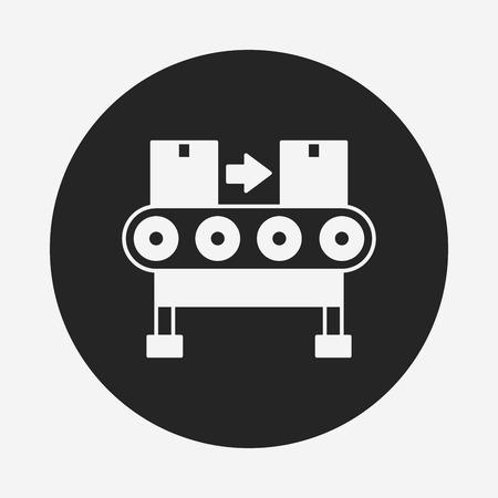 fliesband: Frachtf�rder icon