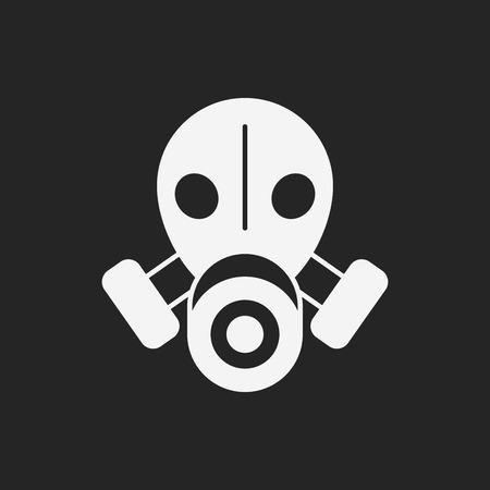chemical warfare: Gas masks icon