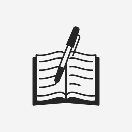 pictograph: writing icon