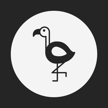 animal: dierlijke pictogram Stock Illustratie
