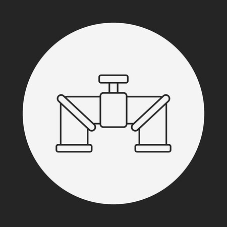 pipe line: Water pipe line icon