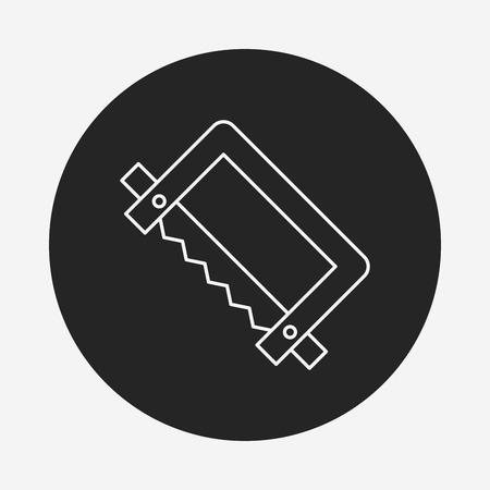 saws: saws line icon