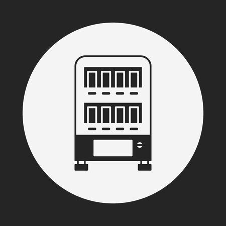 distribution automatique: distributeur ic�ne Illustration