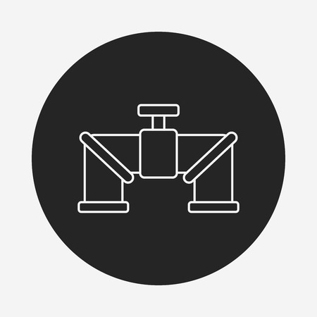 water pipe: Water pipe line icon