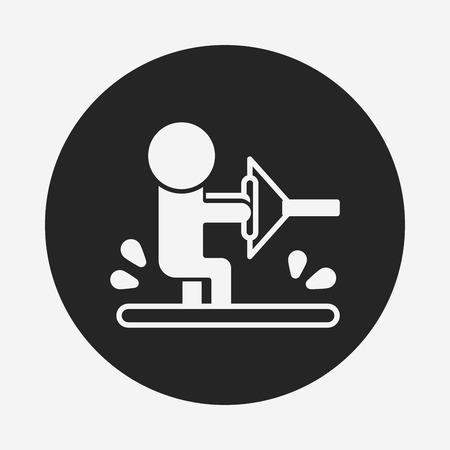 water skiing: Water skiing icon