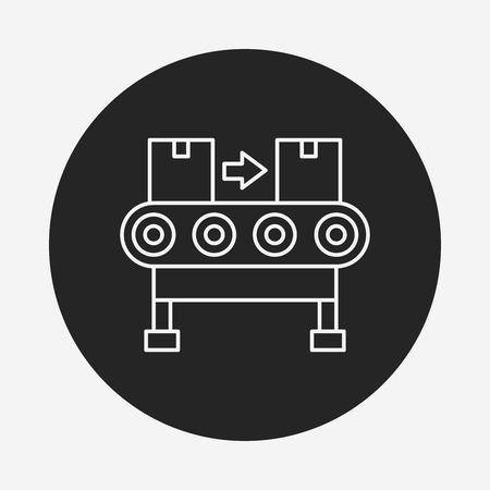 fliesband: Frachtf�rderlinie icon
