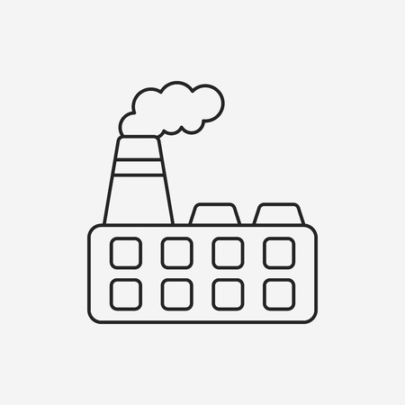 factory line: factory line icon
