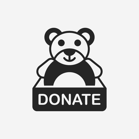 love icon: Donation icon
