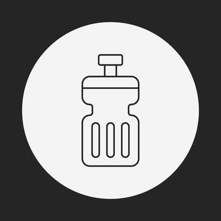 energy drink: energy drink line icon