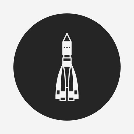 ballistic missile: Missile icon