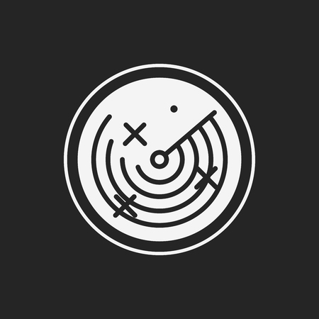 radar: Radar icon