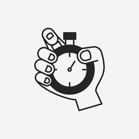 stopwatch pictogram