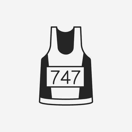 ropa deportiva: Icono de deporte Vectores